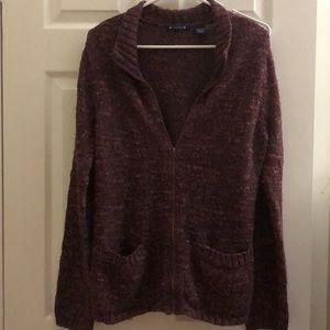 Architech Zip Up Sweater w/ Pockets